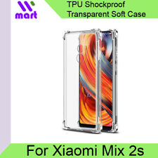 [2 Pack] TPU Transparent Shockproof Soft Case for Xiaomi Mix 2s