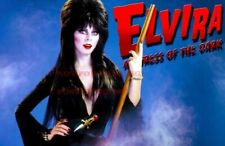 ELVIRA 80s 90s Poster TV Movie Photo Poster |24 by 36 inch| 2