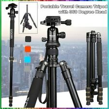 ZOMEI Light Weight Aluminum Tripod Monopod Travel For Canon Nikon DSLR Camera