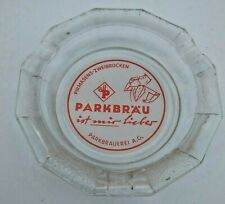 Vintage Parkbrau Beer Ashtray Germany Souvenir Collector German