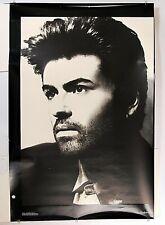 George Michael Original Promo Poster Rare Original 1990 Portrait 36 x 24