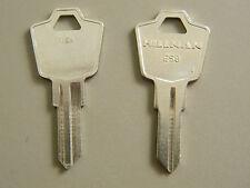 2 ESP Cabinet Lock Key Blanks- ES9/1503 By Hillman - FREE code cutting