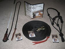 THOMEY HORSE STICK,HALTER,LEAD+DVD,ANDERSON, PARELLI BW