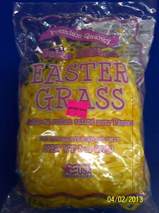 Satin Ribbon Easter Grass Holiday Party Decoration Basket Filler Fill 4 COLORS