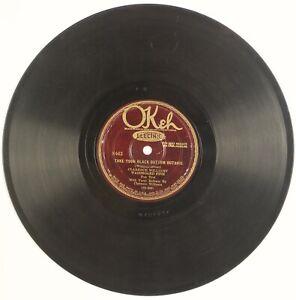 CLARENCE WILLIAMS, WASHBOARD FIVE: Cushion Foot Stomp US Okeh 8462 Jazz 78 Hear