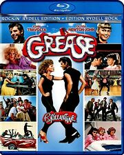NEW BLU RAY  - GREASE - John Travolta, Olivia Newton-John, Stockard Channing,