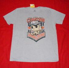 John Cena  WWE Hustle Loyalty Respect Mens T-shirt Size XL Licensed $12.50 F/Sh