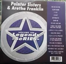 LEGENDS KARAOKE CDG POINTER SISTERS/ARETHA FRANKLIN R&B SOUL #186 16 SONGS CD+G