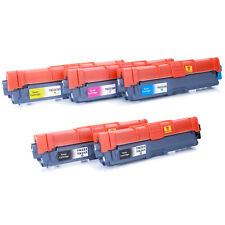 5 Pk TN221 BK TN225 Color Toner For Brother MFC-9130CW MFC-9330CDW MFC-9340CDW