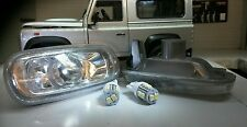 Land Rover Freelander TRANSPARENTE LED INTERMITENTE Luces Indicadoras De