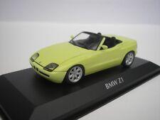 BMW Z1 (E30) 1991 Amarillo 1/43 maxichamps 940020100 NUEVO