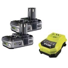 Baterías y cargadores cargadores Ryobi para herramientas eléctricas de bricolaje