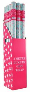 BUY 2 GET 1 FREE WRAPPING PAPER PER ROLL/ HAPPY BIRTHDAY/ FLOWER`S GIFT WRAP