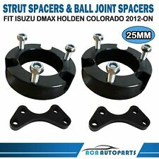 Fit HOLDEN RG COLORADO ISUZU DMAX 25MM STRUT & BALL JOINT SPACERS LIFT KIT