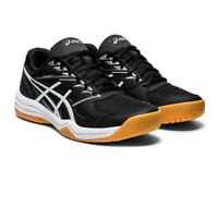 Asics Womens Upcourt 4 Indoor Court Shoes Black Sports Squash Netball Handball