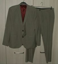 "Jacket 46R  Trousers W34"" L31"" - NEXT - Tailored Fit Wool Blend Suit - Brand New"