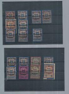 Austria - Serbia - Nice Lot Revenue Stamps