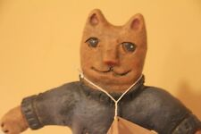 DEBBIE BRYAN COLLECTION PRIMITIVE CAT KATHY FOLK ART DECOR KITTEN KITTY DOLL