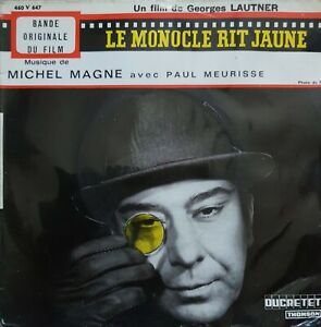 """EP bande originale """"Le monocle voit jaune"""""""