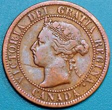1900 Canada 1 Cent Victoria. KM#7. Large Cent
