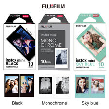 Monochrome+Black+Blue 30 Sheets Fujifilm Instax Mini Film fr Mini 9 8 7 70 90 25