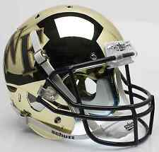 WAKE FOREST DEMON DEACONS Schutt XP Full-Size REPLICA Football Helmet (CHROME)