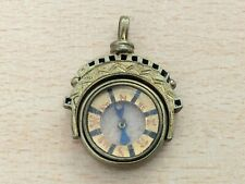 ANTIQUE ROLLED GOLD COMPASS FOB MEDALLION 1890