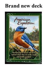 Eastern Bluebird - American Expedition NEW DECK OF PLAYING CARDS Casino Quality