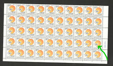 MONTENEGRO-MNH-SHEET OF 100 STAMPS-Struggle Against Cancer-ENGRAVER-2002.
