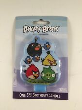 """Bakery Crafts Angry Birds Birthday Candle, 3.5""""   A1959V"""