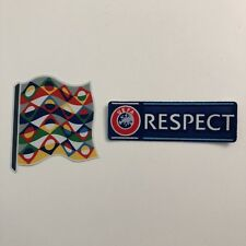 UEFA Nations League & UEFA Respect - Player Sleeve Badges Patches