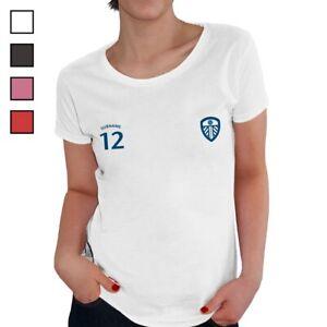 Leeds United F.C - Personalised Ladies T-Shirt (SPORTS)