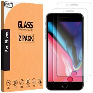 For Apple iPhone 8 Tempered Glass Screen Protector Genuine