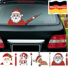Weihnachten Santa Claus Xmas Neuheit Aufkleber für Auto Hinten Scheibenwischer