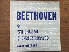Beethoven Concerto Pour Violon David Oïstrakh ALBUM VINYL LP