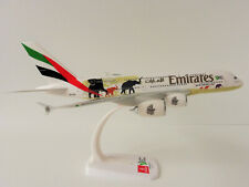 Herpa Emirates Airbus A380 United of Wildlife Scale 1-250