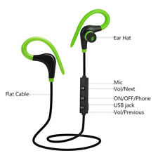 Wireless Bluetooth4.1 Headset Stereo Headphone Sport Earphone Handfree With Mic