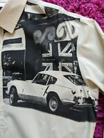 CARNABY STREET Paul Smith Shirt Size XL - Swinging 60's / Triumph Spitfire COOL