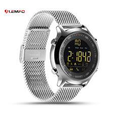 Lemfo Bluetooth EX18 IP67 Impermeable Reloj Inteligente Banda Para Android iOS