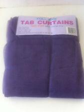 Grape Lilac  Mosquito Net Sheer Tab Curtain - 150cm x 240cm 1 Pair