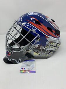 BRADEN HOLTBY Washington Capitals Autographed SIGNED Goalie Mask W/ PSA COA