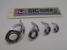 1pc Fuji Tackle CLBSG LB Heavy Duty Fishing Rod Guides SIC  Choose Size