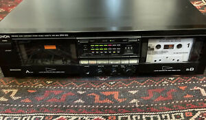 Denon DRW-650 Dual Double Cassette  Deck Player Dolby B C NR HX Pro Tested Clean