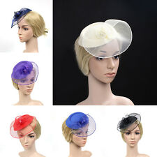 Fashion Headband Aliceband Hat Fascinator Weddings Ladies Day Race Royal Ascot*
