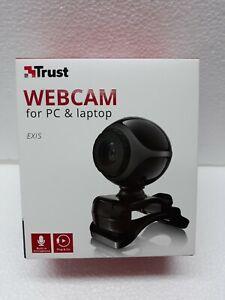 WEBCAM PER PC COMPUTER TRUST EXIS USB CON MICROFONO