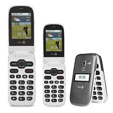 Doro Phone Easy 624 Graphite (Unlocked) Stylish clamshell Camera Mobile Phone