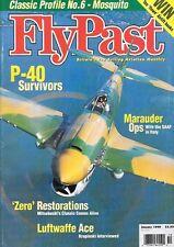 FlyPast Magazine 210 Marauder SAAF Italy Mosquito Luftwaffe P-40 Zero Viper RAF