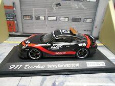 PORSCHE 911 991 Turbo Safety Car Le Mans 2018 WEC Series FIA 70 Minichamps 1:43