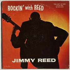 New listing  JIMMY REED 1st Press ROCKIN' WITH REED Vee Jay MAROON LABEL, Deep Groove NM