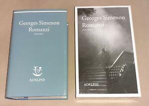 Romanzi. Vol. 1 di Georges Simenon - Adelphi, 2004